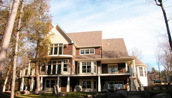maison neuve CIM Signature Lac Gémont, St-Adolphe d'Howard, prix Domus 2004