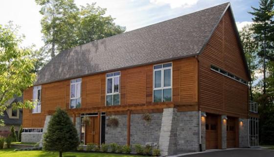 Maison contemporaine réalisée par CIM Signature, Domaine Eaux Vives, St-Jérôme, prix Domus 2009