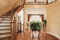 Escalier et hall d'entrée maison de luxe