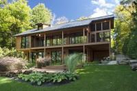 Construction maison de prestige dans les Laurentides
