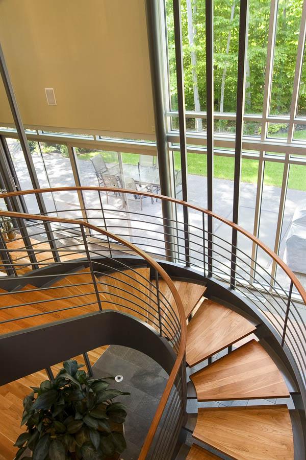 escalier maison contemporaine domus 2007 cim signature. Black Bedroom Furniture Sets. Home Design Ideas