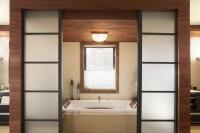 Salle de bain style zen, réalisation CIM Signature