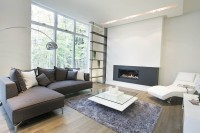 Salon maison contemporaine projet Chambéry à Blainville