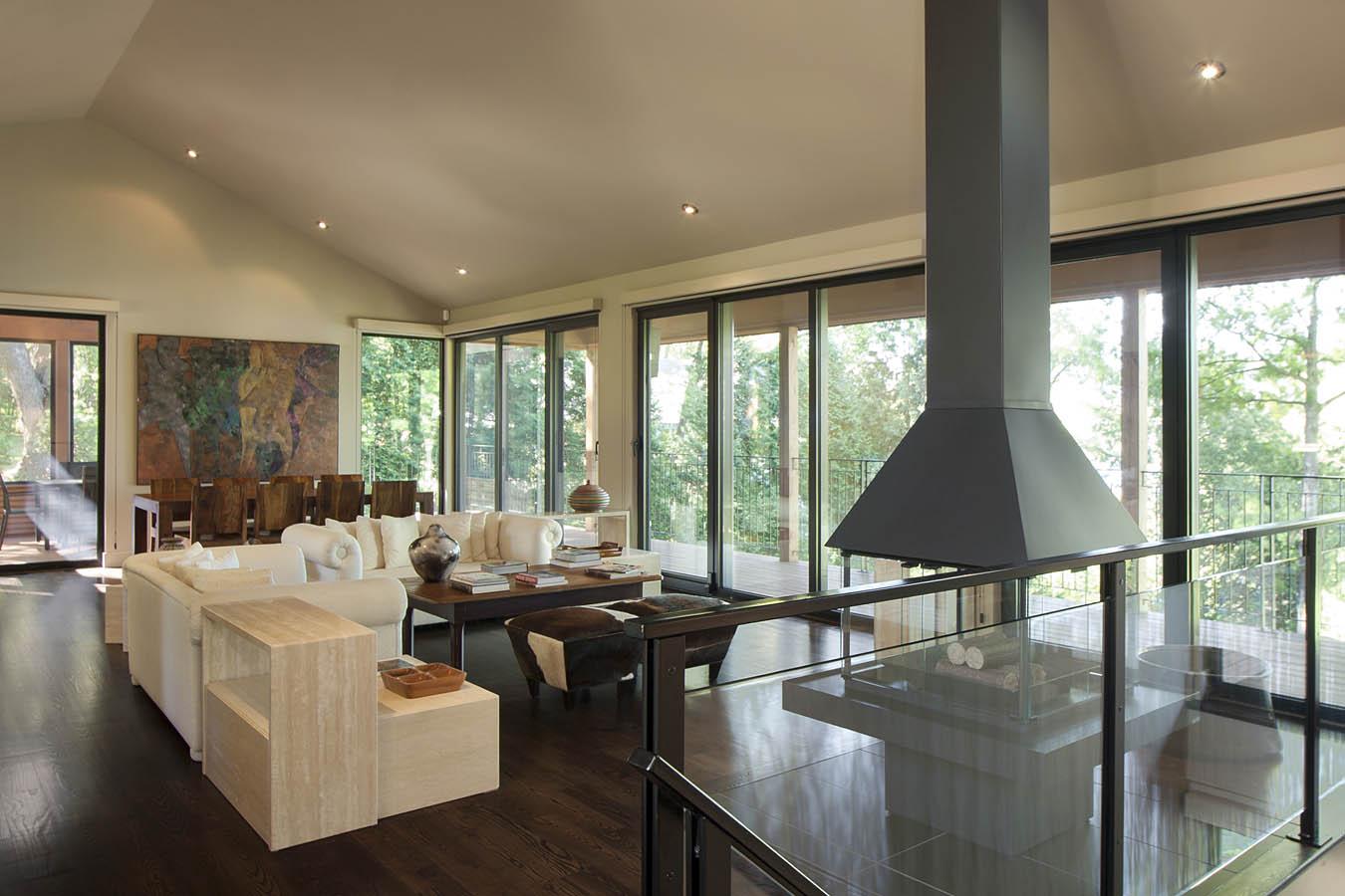 Salon Et Cuisine Aire Ouverte gallerie de maisons personnalisées | cim signature